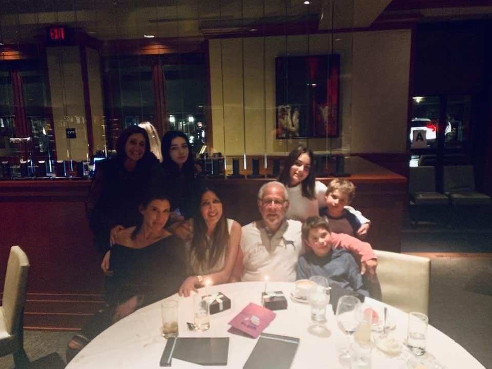 Alby Amato and family